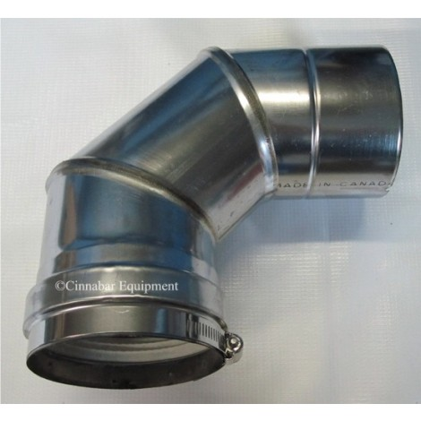 4 in. X 90 deg Stainless Steel Elbow