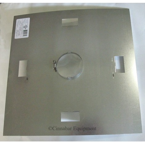 "10"" Galvanized Fire Stop Support"