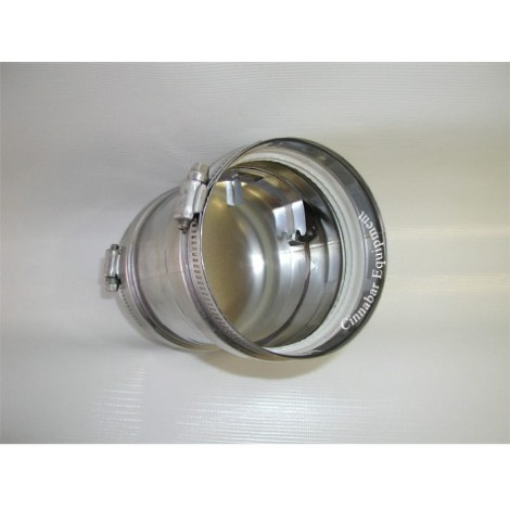 4 in. Universal Appliance Adapter With Backflow