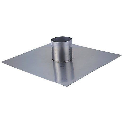 8 Quot Flashing Flat 8 Quot Single Wall Stainless Single