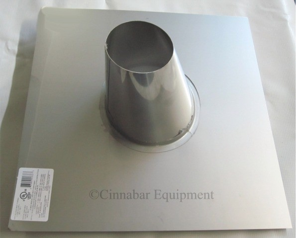 10 In 0 12 6 12 Stainless Steel Roof Flashing