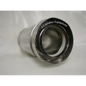 "7"" x 24 in. Double Wall Stainless Steel Vent Pipe"