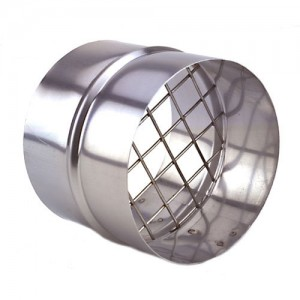 3 in. Stainless Steel Termination with Bird Screen