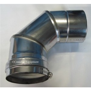 3 in. X 90 deg Stainless Steel Elbow