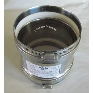 """7"""" Stainless Steel Universal Appliance Adapter"""