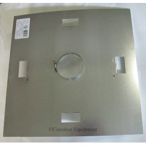 "9"" Galvanized Fire Stop Support"
