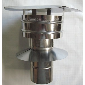 4 in. Stainless Steel Rain Cap