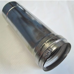 3 in. x 24 in. Stainless Steel Vent Pipe