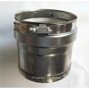 Z-Vent Tee Cap - 9 Inch Double Wall
