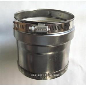 Z-Vent Tee Cap - 9 Inch