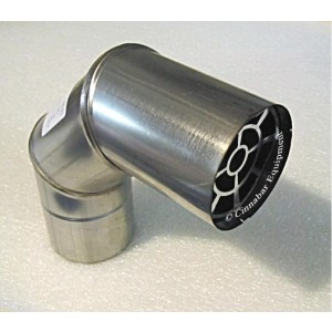 3 in. Stainless Steel Termination Elbow w/ Birdscreen