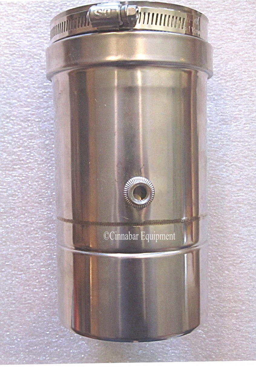 4 In Stainless Steel Inline Vertical Drain 4 Quot Single
